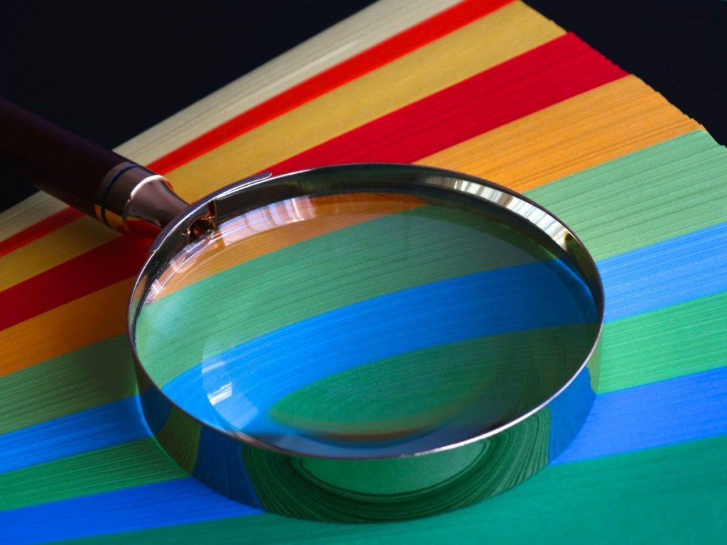 Magnifying glass - investigations